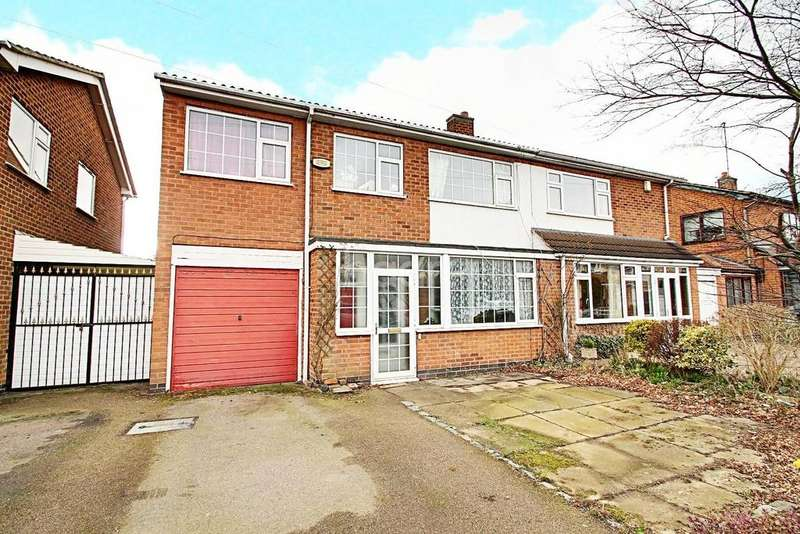 5 Bedrooms Semi Detached House for sale in Westover Road, Leicester