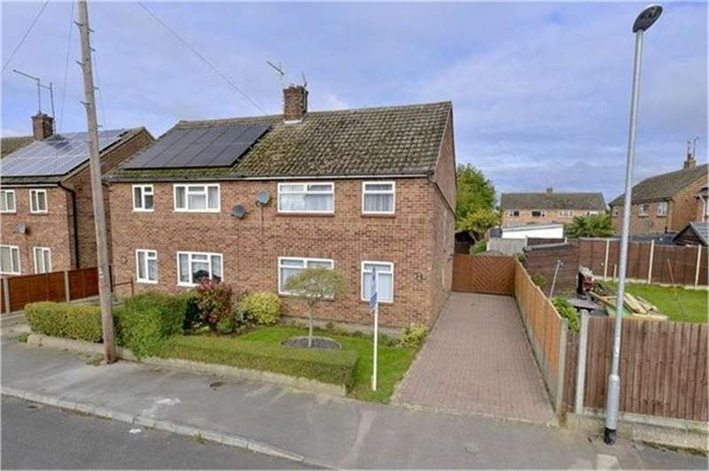 3 Bedrooms Semi Detached House for sale in Tower Close, Finedon, Northamptonshire