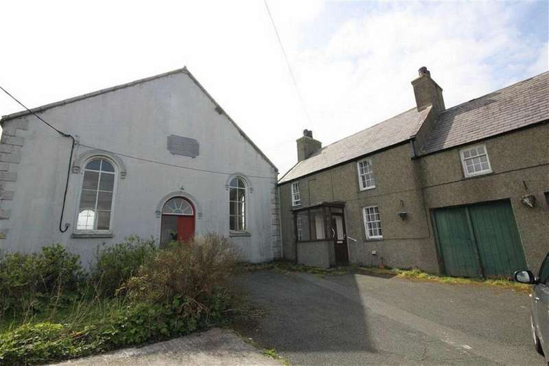 4 Bedrooms Semi Detached House for sale in Caergeiliog, Anglesey, LL65