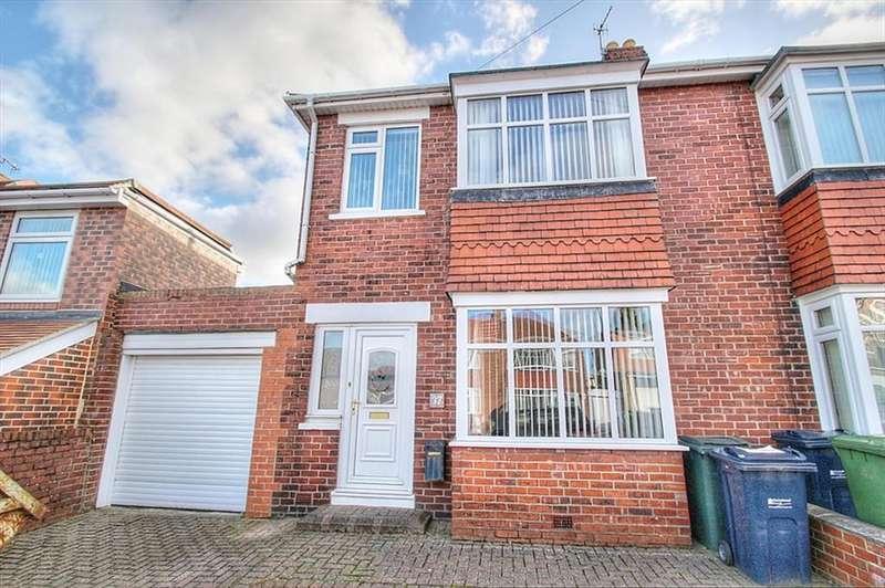 3 Bedrooms Semi Detached House for sale in Oakfield Road, Gateshead, NE11 0AA