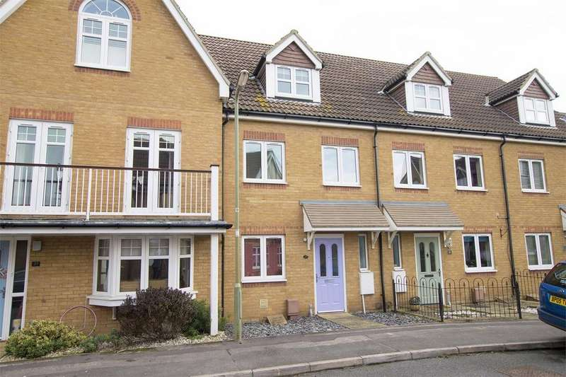 3 Bedrooms Town House for sale in Westland Drive, Lee-on-the-Solent, Hampshire
