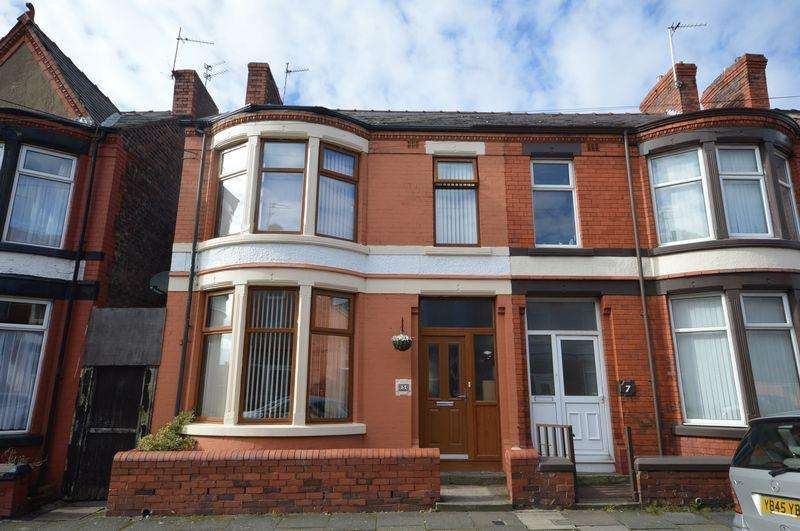 3 Bedrooms Semi Detached House for sale in Barrington Road, Wallasey