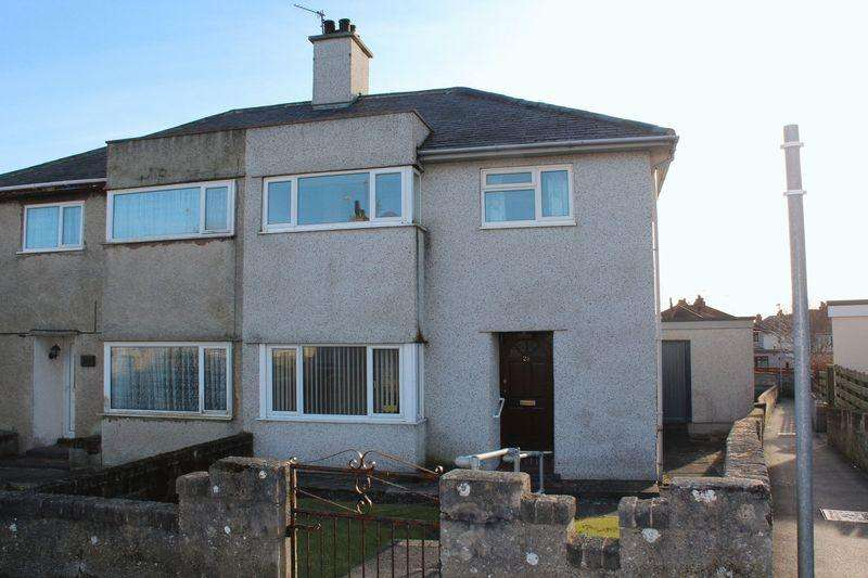 3 Bedrooms Semi Detached House for sale in Ffordd Feurig, Holyhead