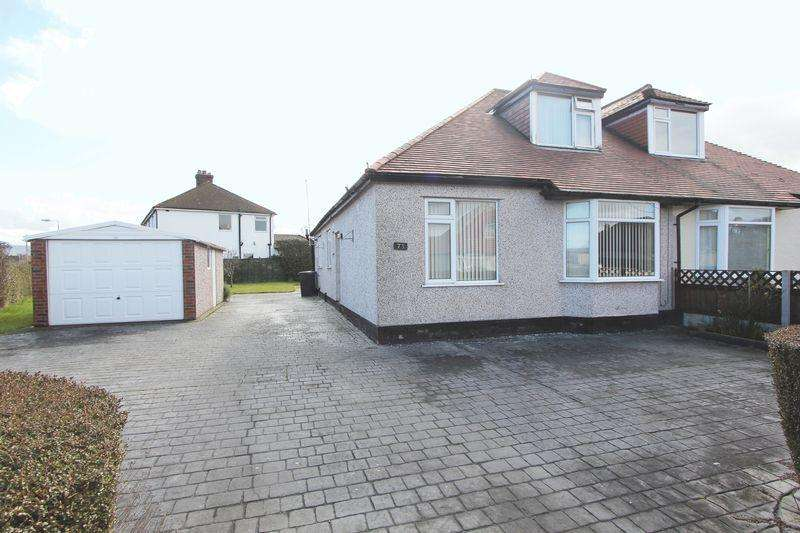 2 Bedrooms Semi Detached House for sale in Trewen, Denbigh