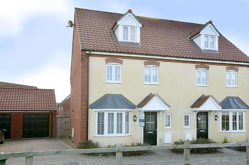 4 Bedrooms Town House for sale in Hendry Gardens, Wymondham