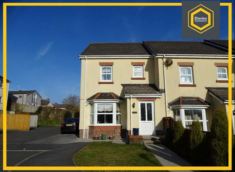 3 Bedrooms End Of Terrace House for sale in 8 Llygad-Y-Ffynnon, Five Roads, Llanelli, SA15