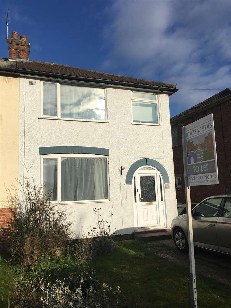 3 Bedrooms House for rent in Fairfield Road, Ipswich