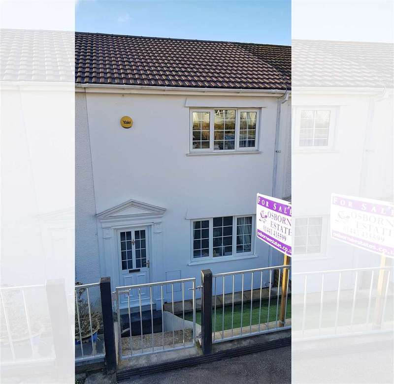 2 Bedrooms Terraced House for sale in The Uplands, Pentre