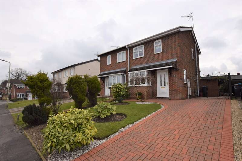 2 Bedrooms Semi Detached House for sale in Charnwood Road, Barwell LE9