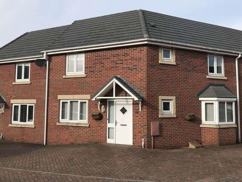 3 Bedrooms Semi Detached House for rent in Adam Morris Way, Coalville