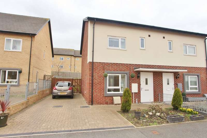 2 Bedrooms Semi Detached House for sale in Montgomery Mews, Wath-Upon-Dearne, Rotherham, S63