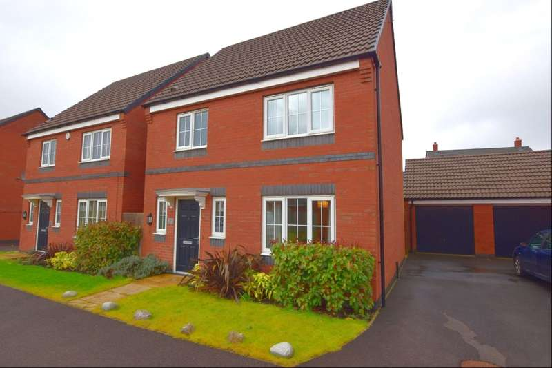 3 Bedrooms Detached House for sale in Sandpit Drive, Birstall, Leicester, LE4