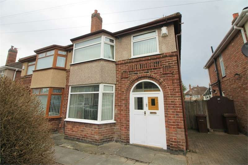 3 Bedrooms Semi Detached House for sale in Spooner Avenue, Litherland, Merseyside