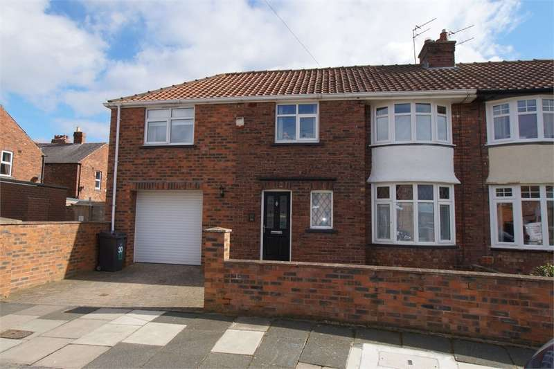 3 Bedrooms Semi Detached House for sale in CA1 2AU Brunton Crescent, Off Warwick Road, Carlisle, Cumbria