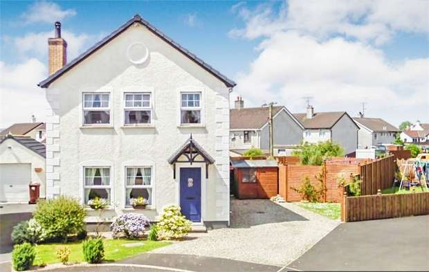 4 Bedrooms Detached House for sale in Gleneagles, Cloughmills, Ballymena, County Antrim