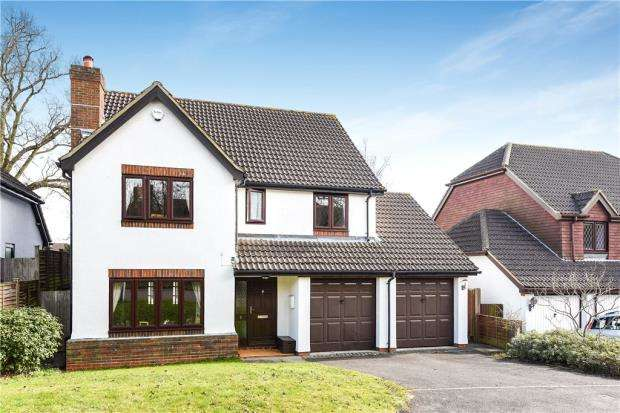 5 Bedrooms Detached House for sale in Poyle Gardens, Bracknell, Berkshire