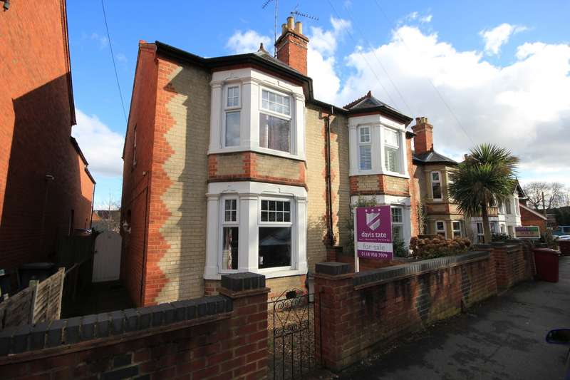 3 Bedrooms Semi Detached House for sale in Priory Avenue, Caversham, Reading, RG4