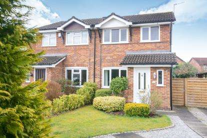 3 Bedrooms Semi Detached House for sale in Turnberry Drive, Wilmslow, Cheshire, .