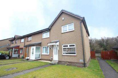 3 Bedrooms End Of Terrace House for sale in Titchfield Way, Girdle Toll, Irvine, North Ayrshire