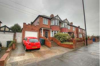 3 Bedrooms Semi Detached House for sale in West Road , Denton Burn , Newcastle Upon Tyne , NE15 7QQ