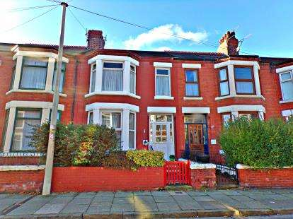 3 Bedrooms Terraced House for sale in Haldane Ave, Claughton, Wirral, CH41