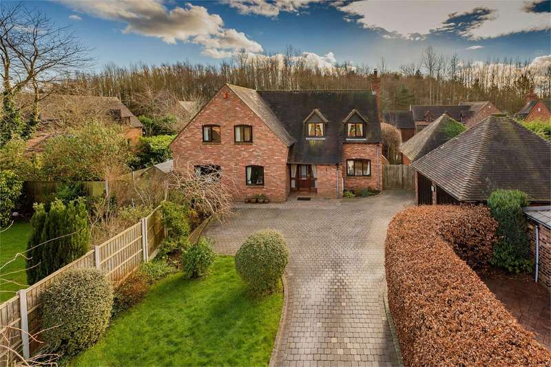 5 Bedrooms Detached House for sale in 8 Woodhouse Lane, Priorslee, Telford, Shropshire, TF2