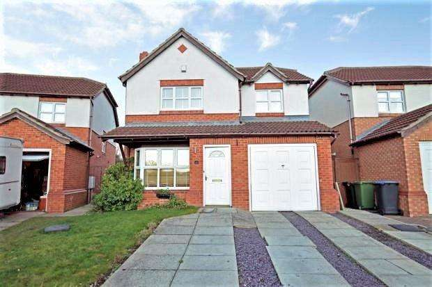 4 Bedrooms Detached House for sale in HUTTON CLOSE, FISHBURN, SEDGEFIELD DISTRICT