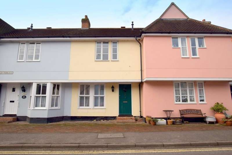 2 Bedrooms Terraced House for sale in Church Terrace, Bures CO8 5ED