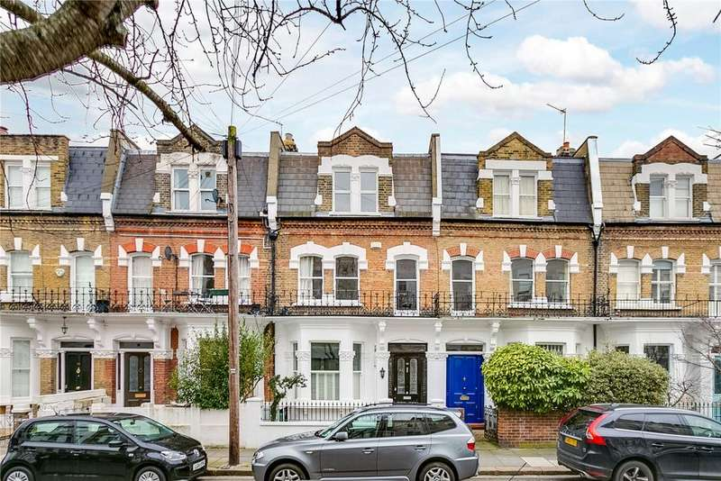 5 Bedrooms Terraced House for sale in Chesilton Road, Fulham, London