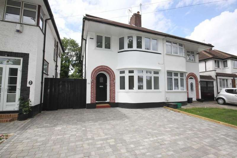 4 Bedrooms Semi Detached House for rent in Beaumont Road, Petts Wood East