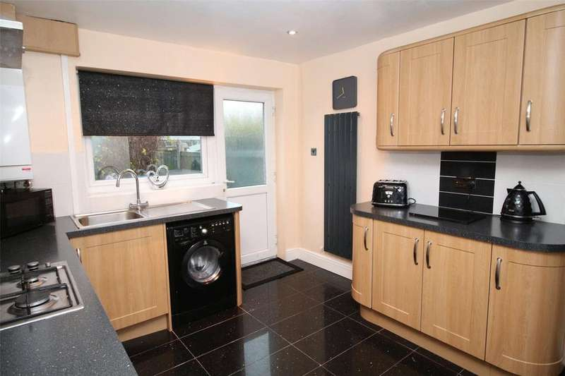 3 Bedrooms Semi Detached House for sale in Oakwood Court, Esless Park, Rhostyllen, Wrexham, LL14