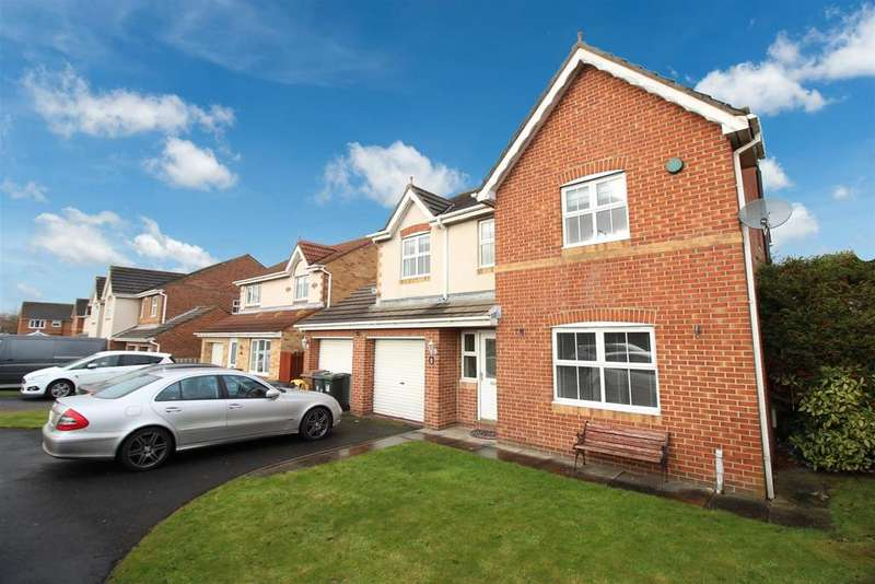 4 Bedrooms Detached House for sale in Benton Road, West Allotment, Newcastle Upon Tyne