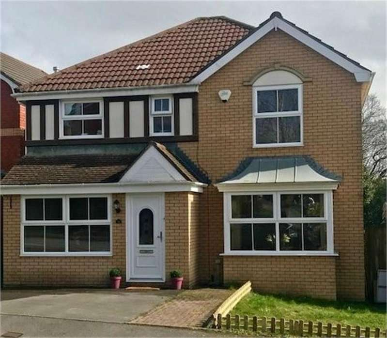 4 Bedrooms Detached House for sale in Clonakilty Way, Pontprennau, Cardiff