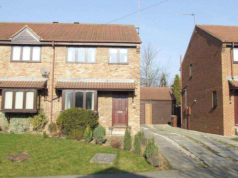 3 Bedrooms Semi Detached House for sale in The Poplars, Knottingley