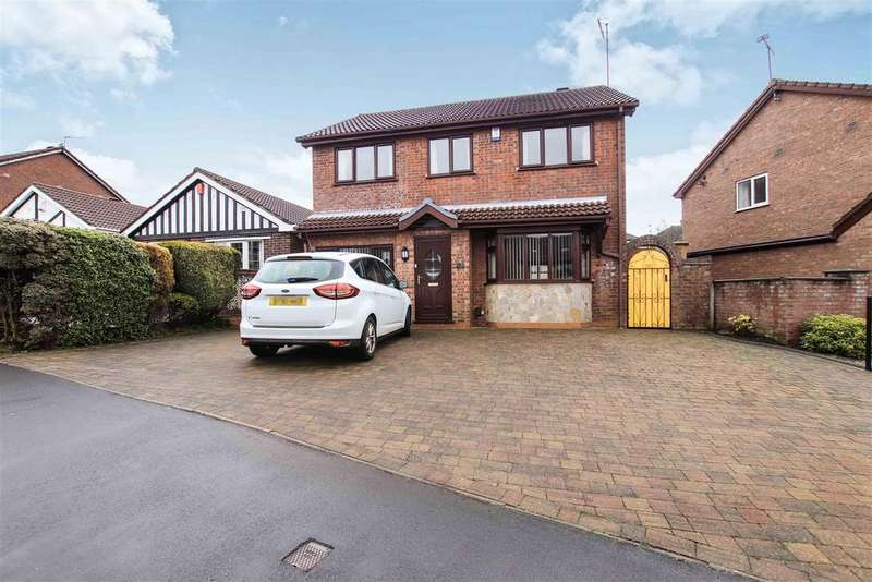 5 Bedrooms Detached House for sale in Priam Close, Bradwell, Newcastle, Staffs