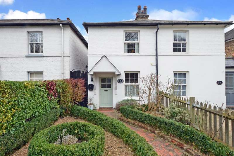 2 Bedrooms Semi Detached House for sale in Yew Cottages, Portsmouth Road, Thames Ditton, KT7