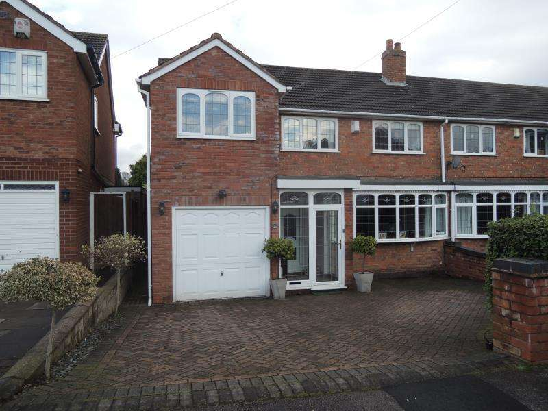 4 Bedrooms Semi Detached House for rent in Bankside Crescent, Streetly B74 2JA