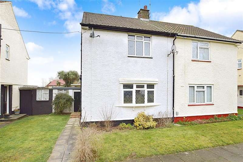 2 Bedrooms Semi Detached House for sale in Allington Road, Twydall, Gillingham, Kent