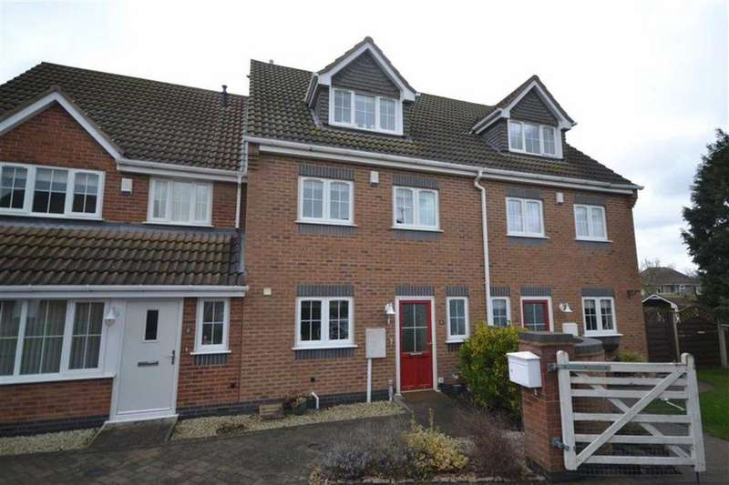 3 Bedrooms Terraced House for sale in Swinnerton's Heritage, Weddington, Nuneaton