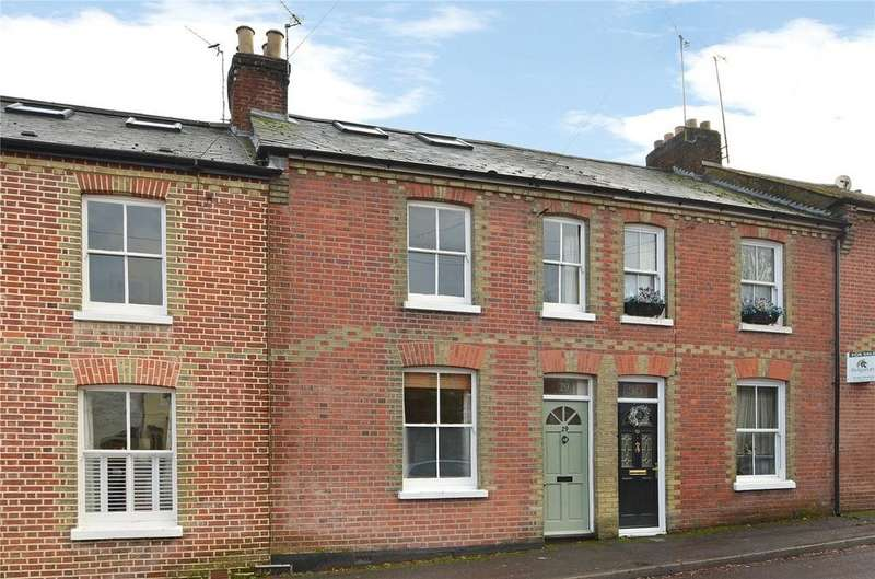 3 Bedrooms Terraced House for sale in Western Road, Winchester, Hampshire, SO22
