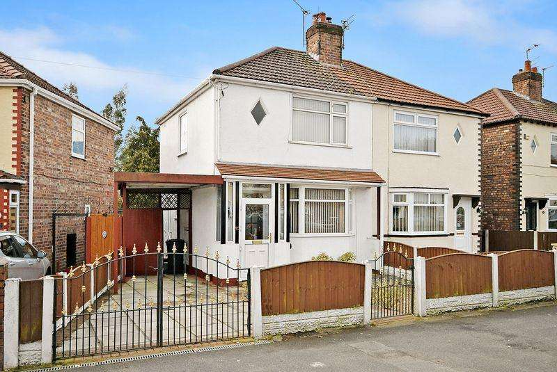 2 Bedrooms Semi Detached House for sale in Ditchfield Road, Widnes