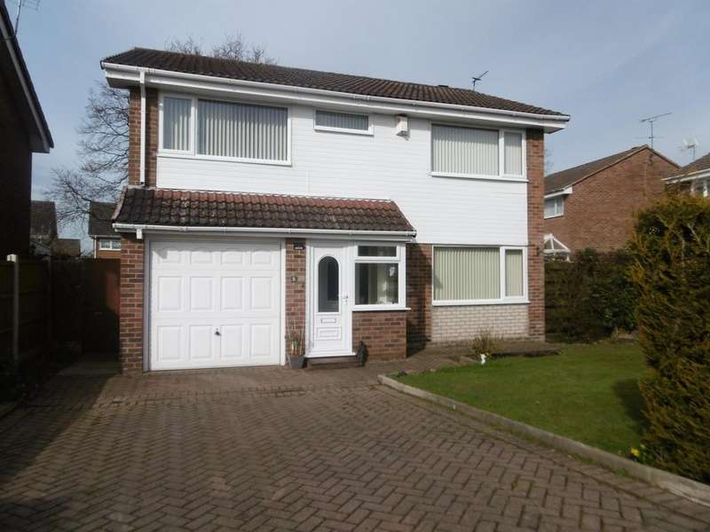 4 Bedrooms Detached House for sale in Iona Close, Gainsborough, DN21 1YD