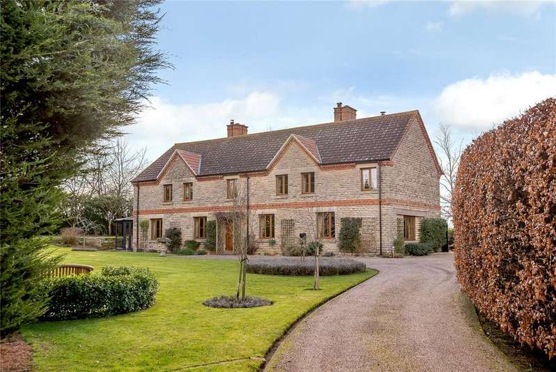 4 Bedrooms Detached House for sale in Old School Cottage, Brauncewell, Sleaford, Lincolnshire, NG34