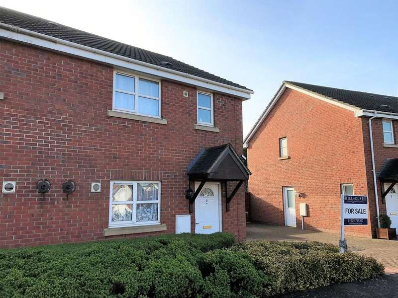 3 Bedrooms Semi Detached House for sale in May Blossom Walk, Spalding, PE11