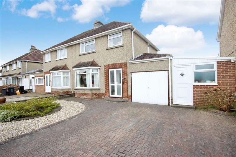3 Bedrooms Semi Detached House for sale in Upham Road, Old Walcot, Swindon