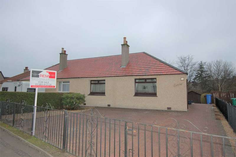 2 Bedrooms Semi Detached Bungalow for sale in Park Road, Rosyth