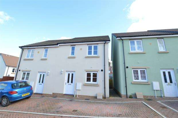 2 Bedrooms Semi Detached House for sale in Vetch Place, Newton Abbot, Devon