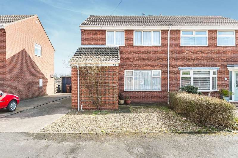 3 Bedrooms Semi Detached House for sale in Ullswater Drive, Hull, HU8