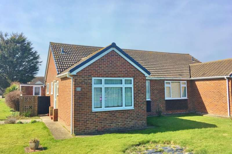 2 Bedrooms Semi Detached Bungalow for sale in Tennyson Walk, Eastbourne, BN23