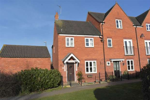 3 Bedrooms End Of Terrace House for sale in Redwing Walk, Walton Cardiff, Tewkesbury, Gloucestershire